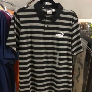 Puma Stripe Polo